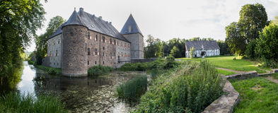 Nrw Alemanha do kemnade do haus do castelo da água imagens de stock
