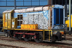 NS Class 600 diesel shunting locomotive Stock Images