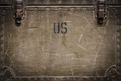 Nós fundo militar Foto de Stock Royalty Free