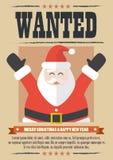 Nós queremos Papai Noel Foto de Stock