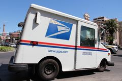 nós serviço postal Fotos de Stock Royalty Free
