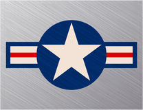 Nós sinal da força aérea Fotos de Stock