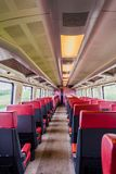NS train inside entrance to the train car first class. Nederlandse Spoorwegen Dutch Railways or NS is the principal passenger railway operator in the Netherlands royalty free stock image