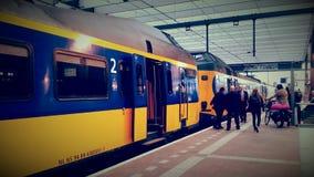 Ns train Royalty Free Stock Photo