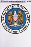 NSA Imagen de archivo libre de regalías