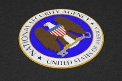 Nsa-logo royaltyfri bild