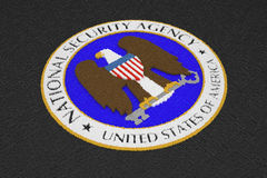 NSA logo royalty free stock image