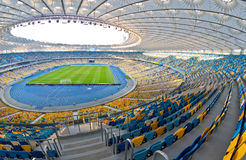 NSC Olympic stadium in Kyiv, Ukraine Stock Images