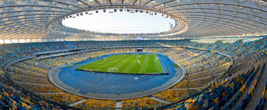 NSC Olympic stadium in Kyiv, Ukraine Stock Image