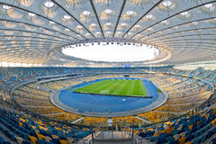 NSC Olympic stadium in Kyiv, Ukraine Royalty Free Stock Image