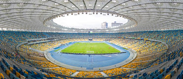 NSC Olympic stadium (NSC Olimpiyskyi) in Kyiv, Ukraine Royalty Free Stock Photo