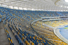 NSC Olympic stadium (NSC Olimpiyskyi) in Kyiv, Ukraine Stock Photography