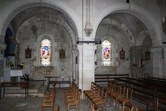 Nside della chiesa Immagine Stock Libera da Diritti