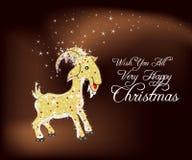 Önska dig all jätteglad jul Arkivbild