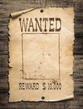 ?nskad l?s v?stra affisch p? tr?bakgrund royaltyfri fotografi
