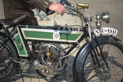 NSU classic motorbike made 1911 Royalty Free Stock Image