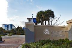 NSU Nova Southeastern University Stock Images