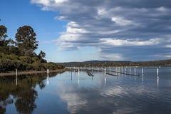 Nsw Australia del lago sea Fotografie Stock Libere da Diritti