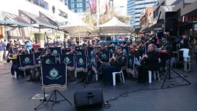NSW Police Band Royalty Free Stock Photos