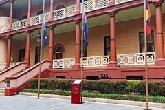 NSW State Government Parliament House, Sydney, Australia royalty free stock photo