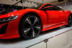 NSX από Acura, αυτοκίνητο έννοιας, 2014 CDMS Στοκ Εικόνες