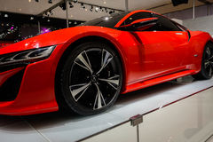 NSX d'Acura, voiture de concept, 2014 CDMS Images stock