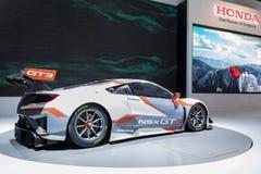 NSX GT3 samochód na pokazie podczas wydarzenia Zdjęcia Royalty Free