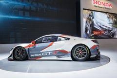 NSX-GT GT3 samochód wystawia przy wydarzeniem Zdjęcia Stock