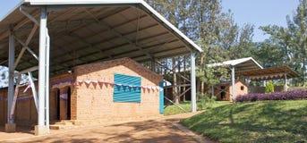 Ntarama church and school Royalty Free Stock Images