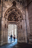 Nterior de la catedral de nuestra señora de la suposición, puerta de acceso a t Imagen de archivo