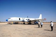 Nternational airport in the city of Hargeisa Stock Images