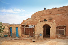 Еntrance to the traditional Berber dwelling Royalty Free Stock Image