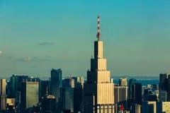 NTT DoCoMo Yoyogi byggnad arkivbilder