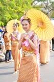 nätt thai för flicka Arkivbild