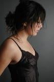 Nätt ung kvinna Arkivfoto