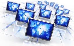 Nätverk Fotografering för Bildbyråer