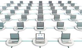 nätverkssäkerhet Arkivbilder