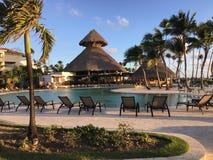 Nu Larimar semesterort i Punta Cana dominikan arkivfoton