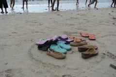 nu-pieds Image libre de droits