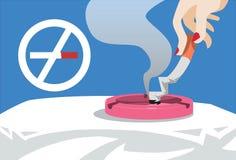 nu rökande stopp Arkivbilder