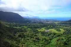 Nu'uanu Pali Lookout Royalty Free Stock Image
