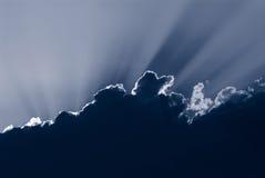 Nuage bleu Photographie stock libre de droits