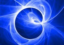 Nuage bleu mou Photo libre de droits