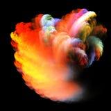 Nuage coloré Photographie stock libre de droits
