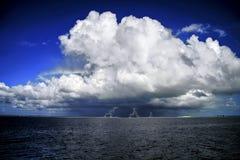 Nuage d'arc-en-ciel Image stock