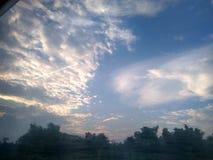 Nuage dans le ciel Photographie stock libre de droits
