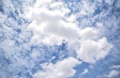 nuage de ciel Photographie stock