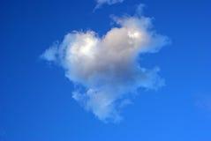 Nuage de coeur Image libre de droits