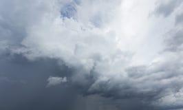 Nuage de pluie Photographie stock