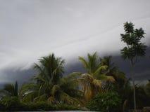 Nuage de pluie images stock